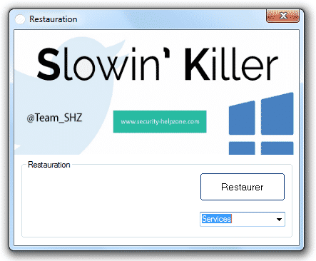 Slowin Killer restauration
