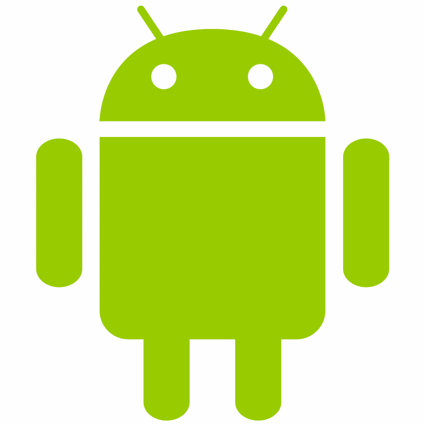Logo Android flat