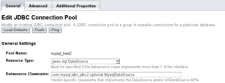 JDBC connection Pool
