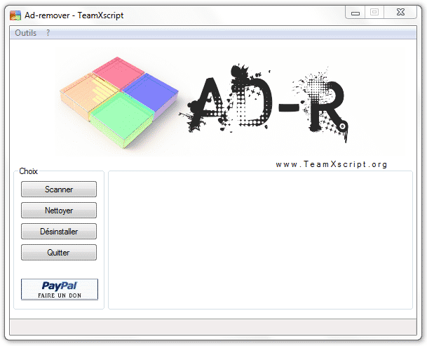 AdRemover Interface