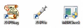 ZHPDiag, ZHPFix, MBRCheck