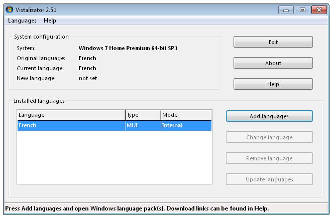 Vistalizator software