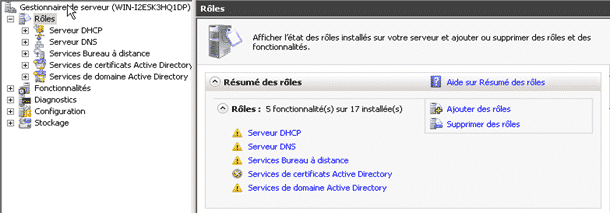 Role TSE Windows Serveur 2008