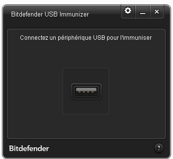 Bitdefender USB Immunizer interface