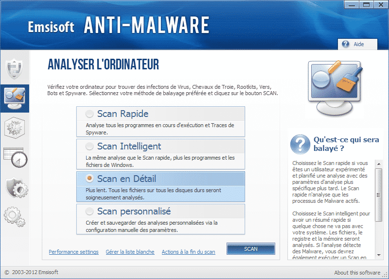 Emsisoft Anti-Malware Scan