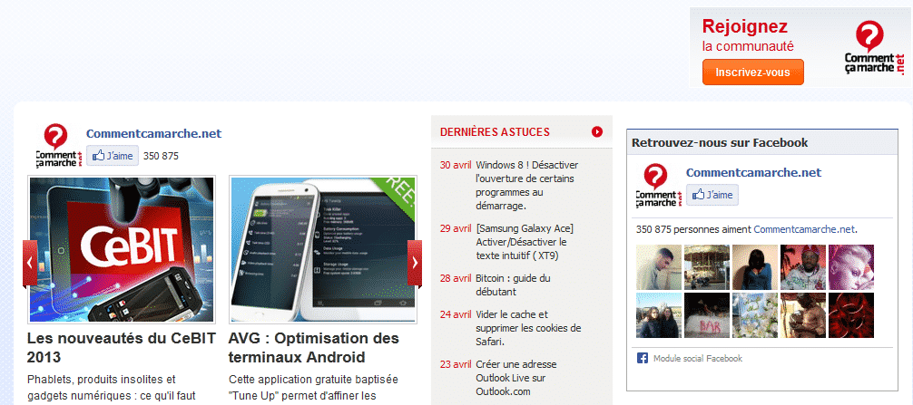 Adblock plus CCM bloque pubs