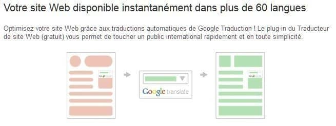 Google Translate Tool bannière
