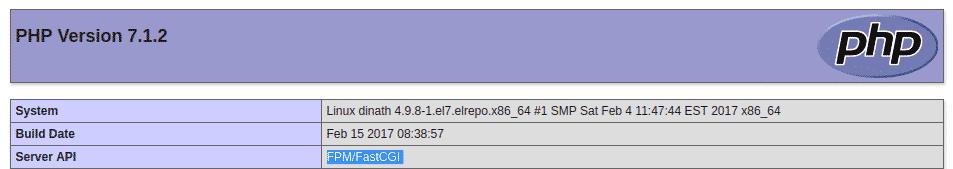 FastCGI Php-fpm apache HTTPD