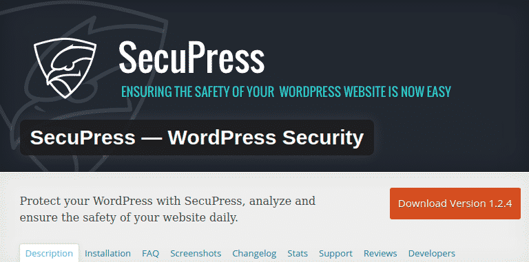 Sécurité WordPress plugin