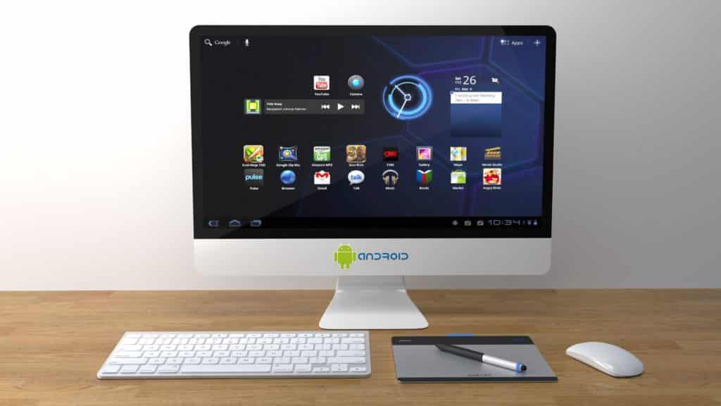 Avoir Android sur PC