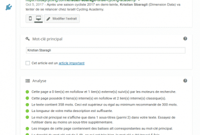WordPress - Comment écrire un article optimisé pour le SEO