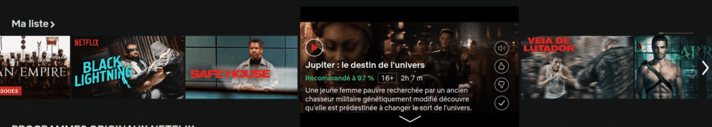 Netflix preview film / série