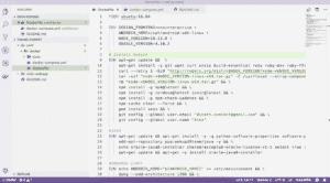Conteneur Docker via Dockerfile dans VSCode