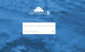 OwnCloud X Serveur